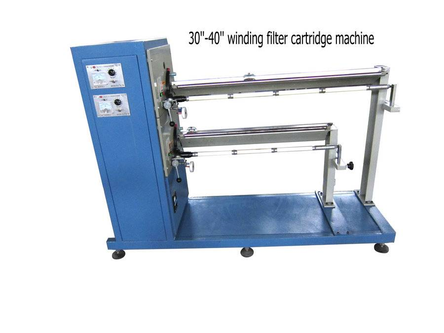 PP Yarn Filter Cartridge Making Machine