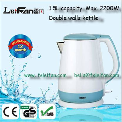 cool touch cordless electric kettle