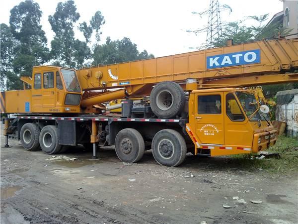 secondhand kato NK500e-III mobile crane