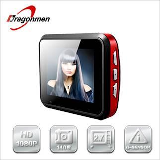 2.7 inch LCD screen full HD car DVR