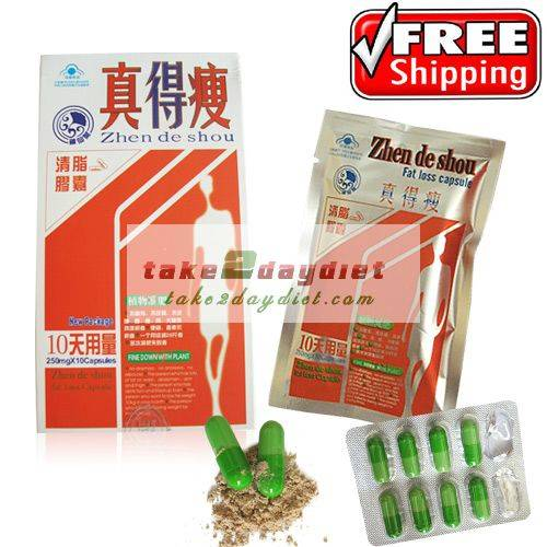 Zhen De Shou Fat Loss Capsule Weight Loss Capsule