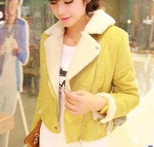 LAPEL WARM COTTON LADIES COAT