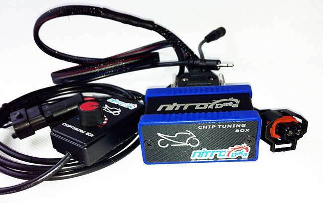 NitroData Chip Tuning Box for Motorbikers Power Promotion