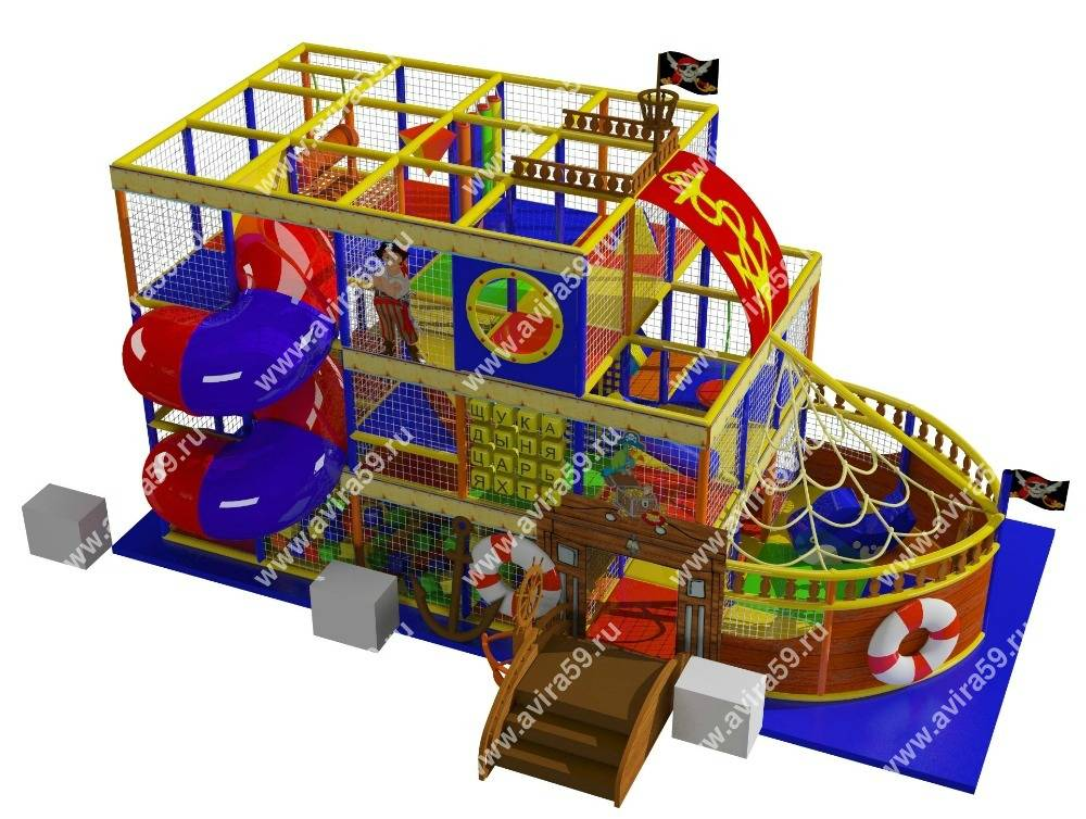 Indoor playground Frigate