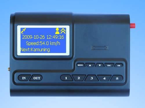 GPS station audio video auto announcer