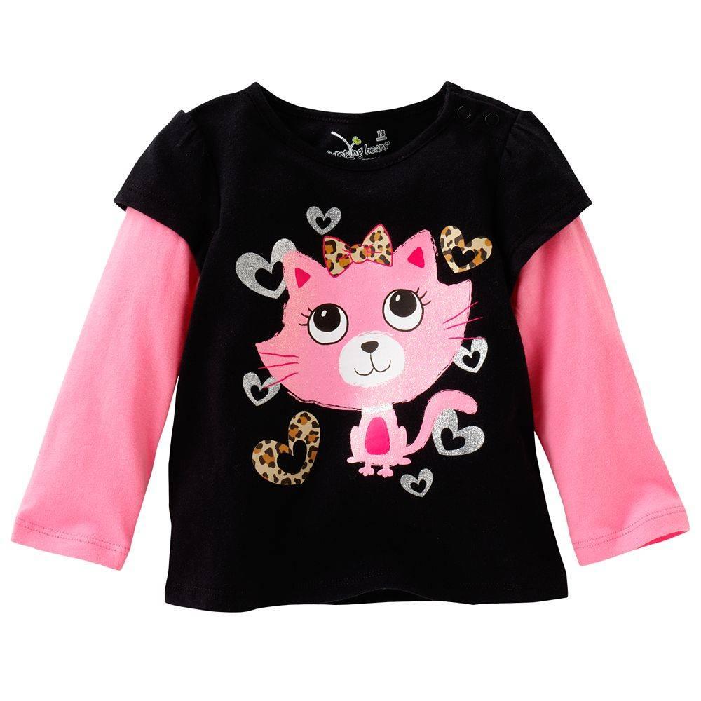 children's t-shirts brand jumpingbeans long t-shirts
