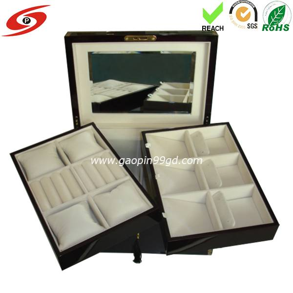 Factory Offer Fashion Design wooden jewelry box