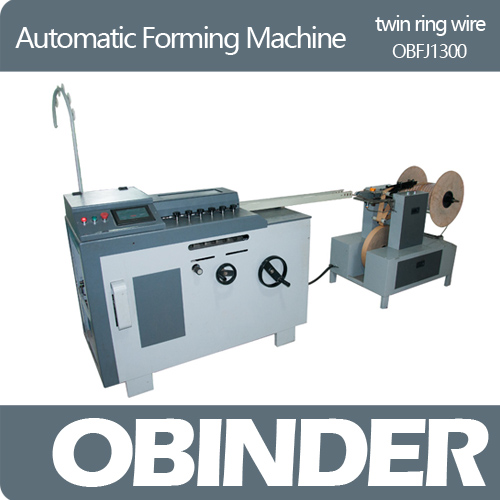 Obinder OBFJ1300 High Speed Twin Ring Wire Forming Machine
