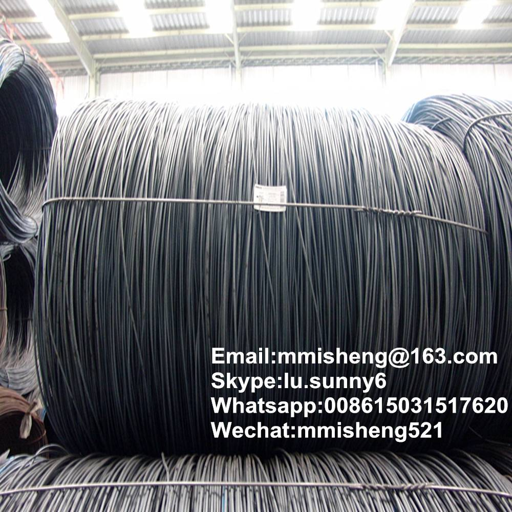 SAE1006/1008 steel wire rods for nail making or construction