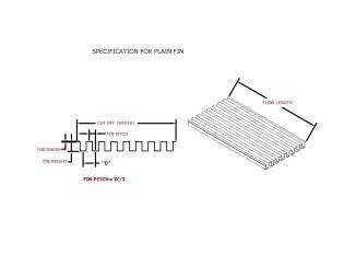 folded fin heat sink - SNS COOLING TECHNOLOGY