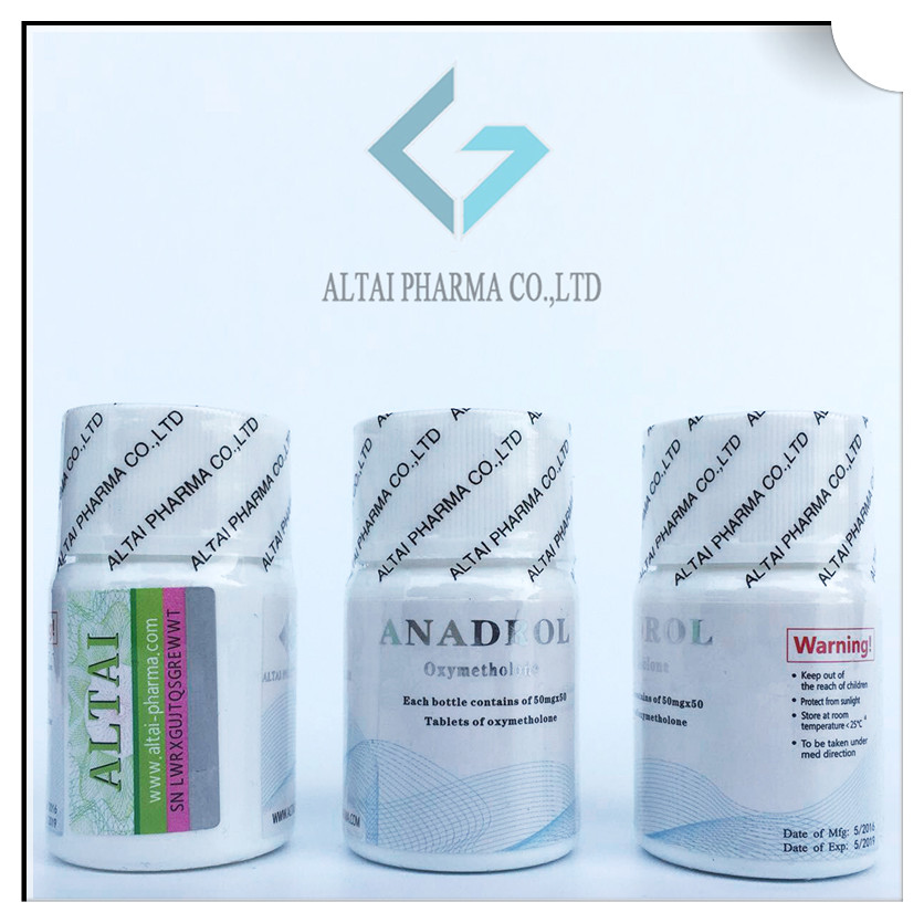 ANADROL Oxymetholone(50mg×50 Tablets)