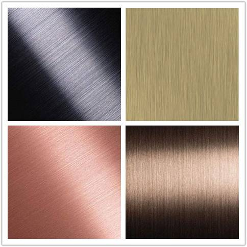 hairline finish stainless steel sheet for interior decoration