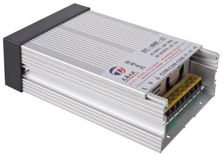 Outdoor Rainproof Power Supply 400W 12V24V/36V/48V(DT-400F)