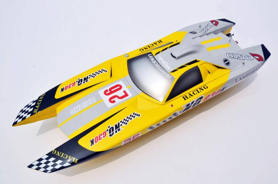 48'' 30cc G30K Raptor Hydro High Speed Racing Gasoline RC Boat Model