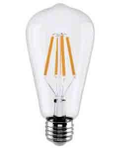 4w led filament/st64 led filament light/light bulb