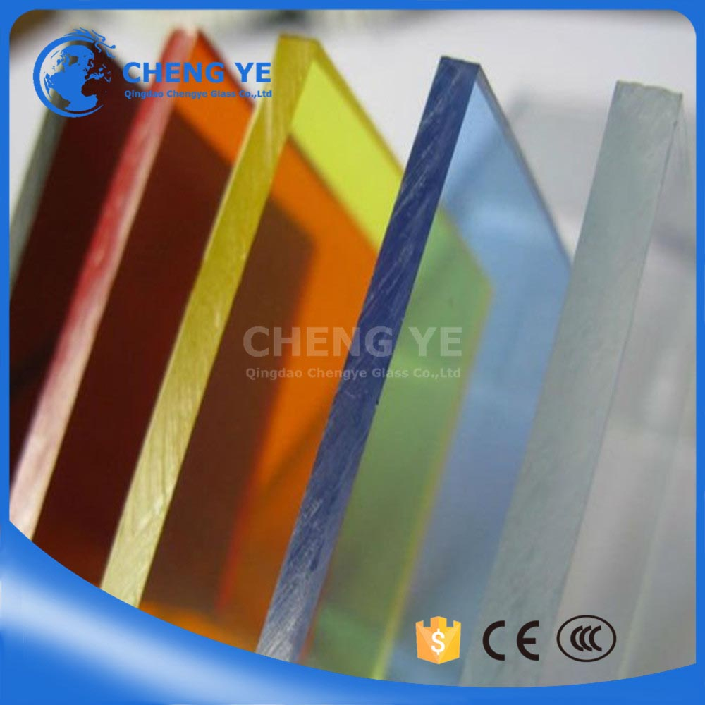Cut To Size Printing Fgreen Tinted Building Glass Glass Tint