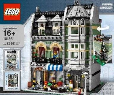 New Lego City Creator Modular 10185 Green Grocer