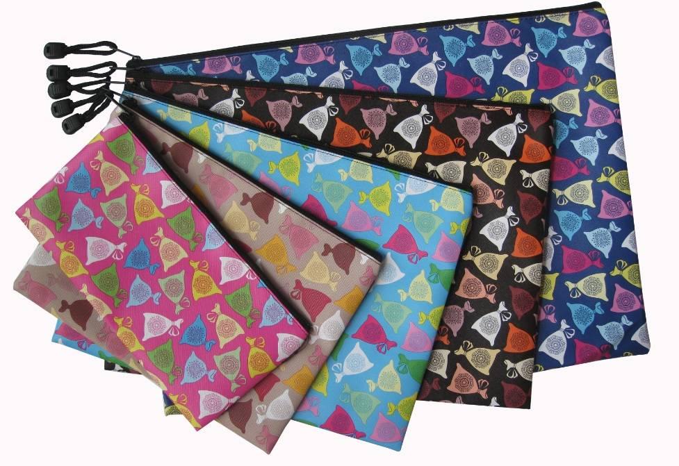 Colorful Treasure zipper bag