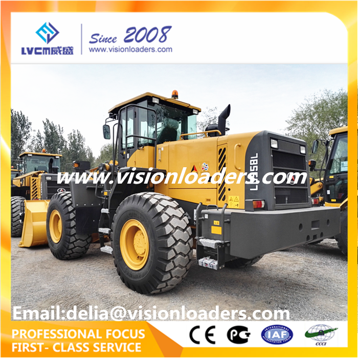 SDLG LG958L 5ton Wheel loader with ZF 4WG200 Transmission Weichai Engine