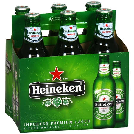 Heineken Beer in Bottles and Cans (Lager and