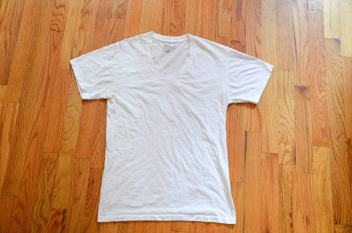 Cheap Custom White T-Shirt