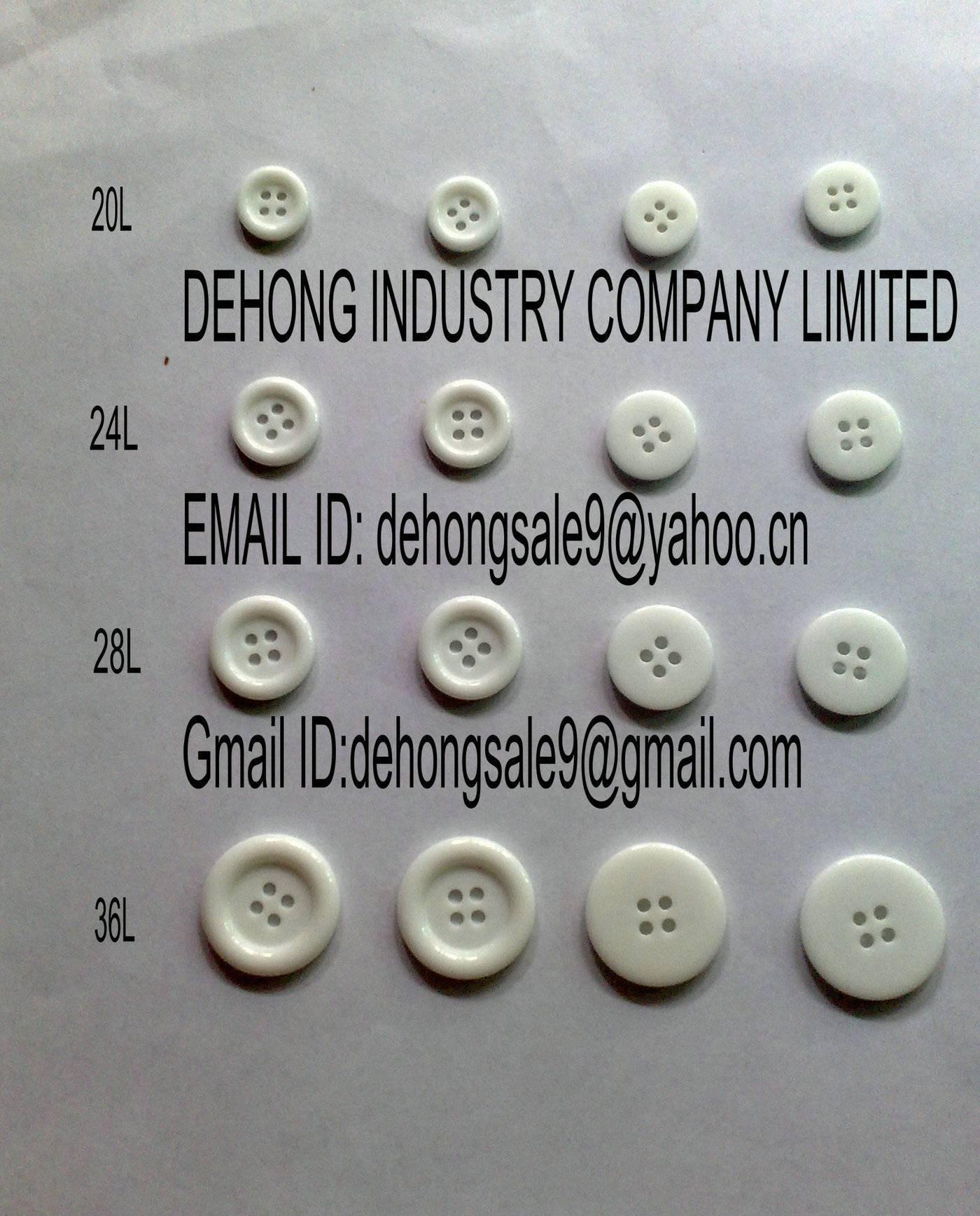 Shirt Button/Resin Button / Plastic Button /polyester Button