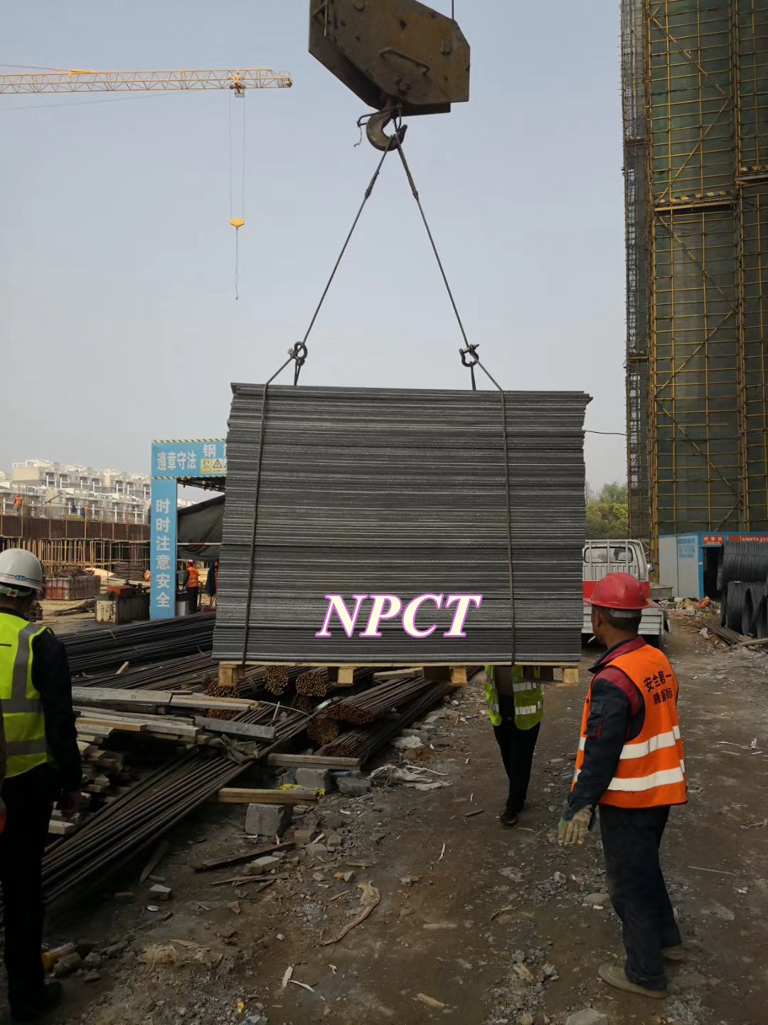 High Quality Resuable Plastic Formwork for Construction and Building/Npct