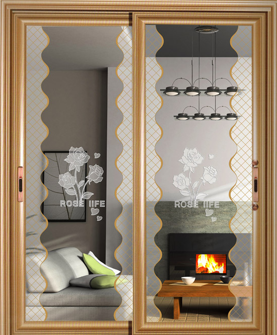 Hot Sale Glass Partition Door Sliding Doors for Decoration,For Bathroom,For Kitchen