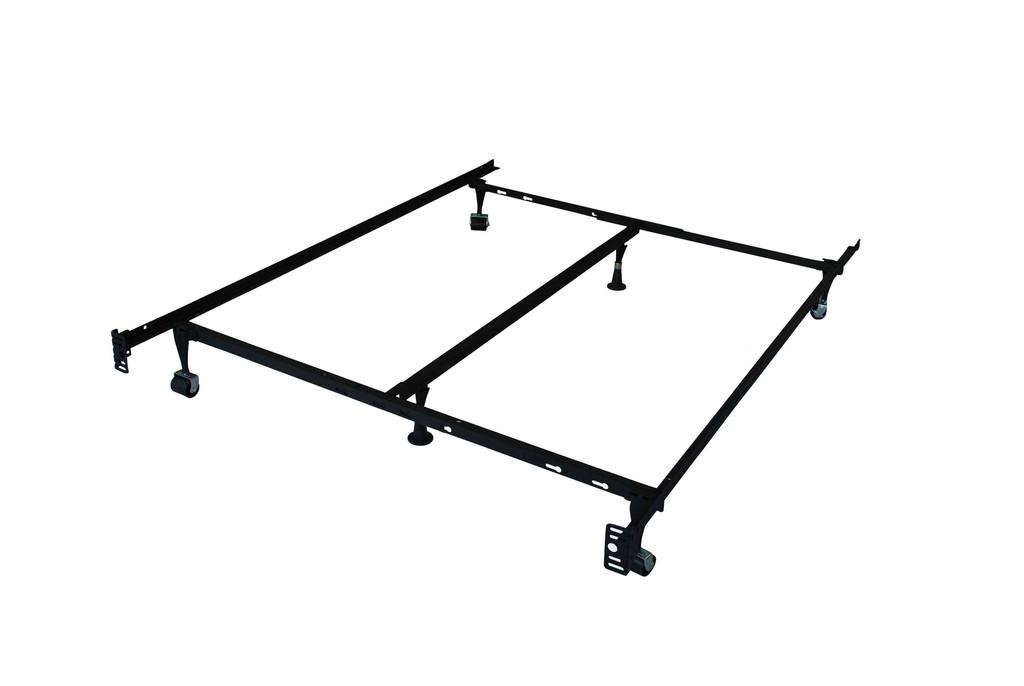 6 legs metal bed frames