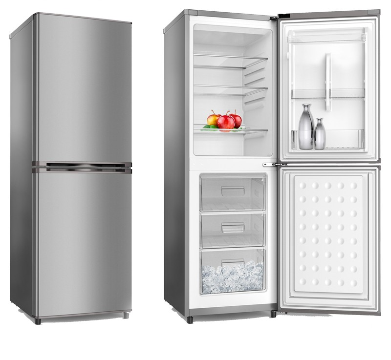 free standing double doors, climate class four star rating high quality refrigerator