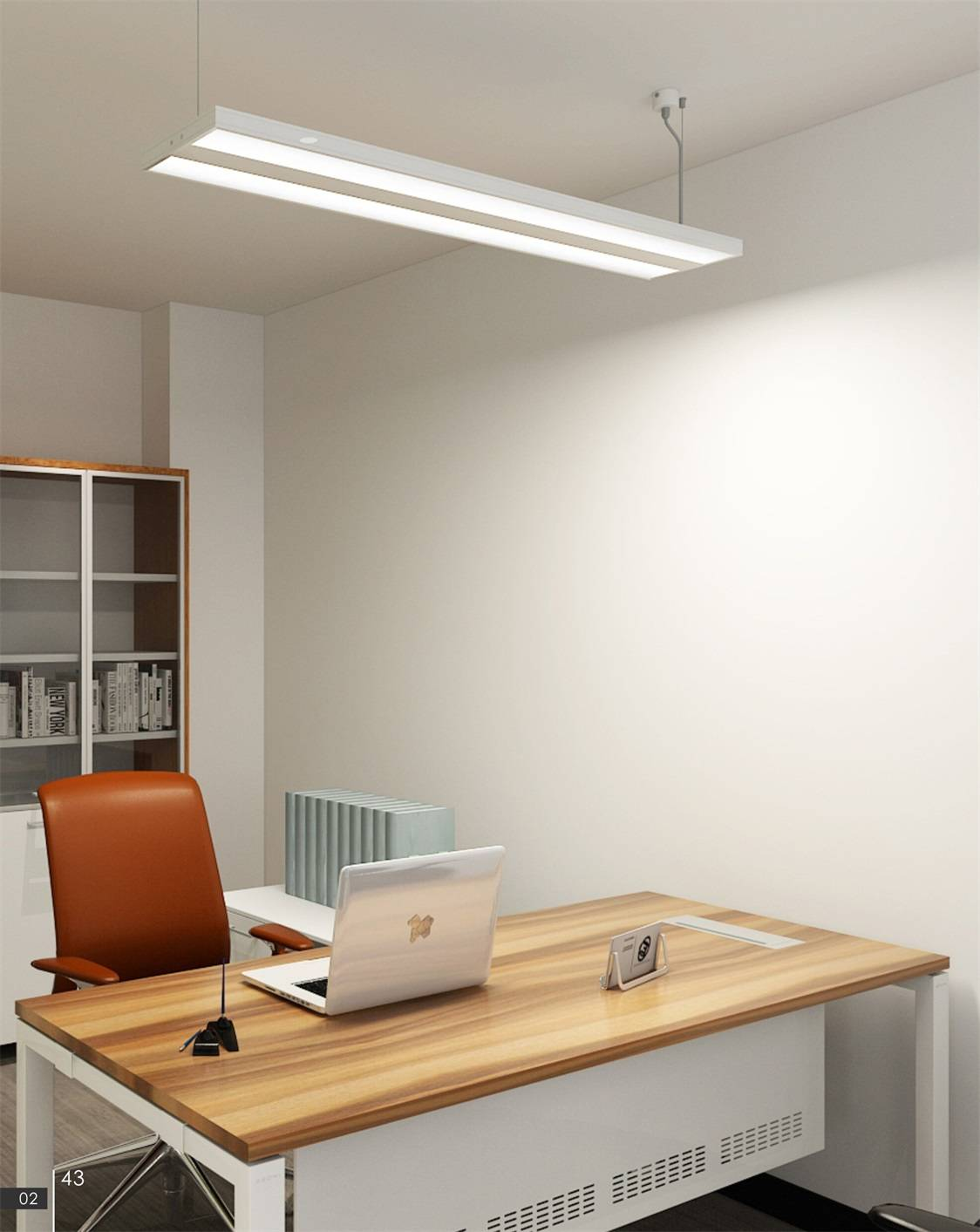 Uispair Modern Office 8W 32V Aluminium Alloy LED Hanging Lamp Pendant Lamp