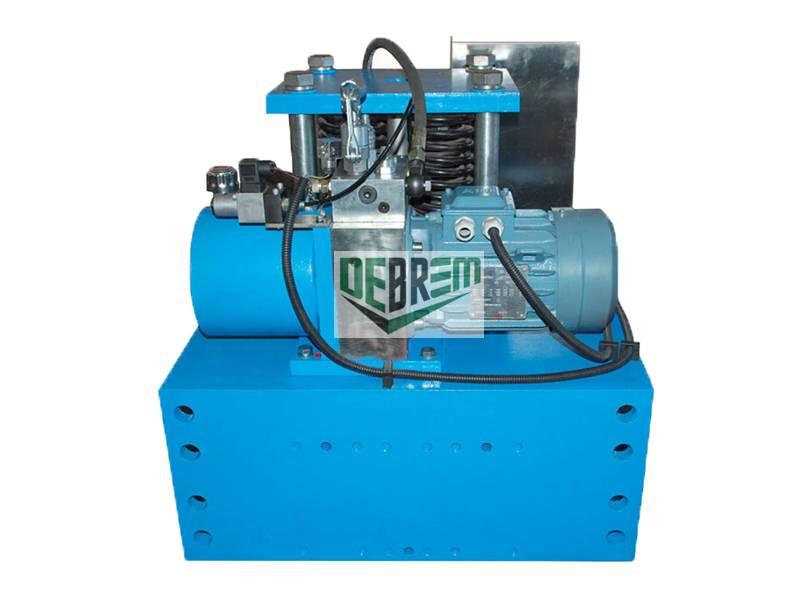 RC1& RC2 electro-hydraulic rail clamping