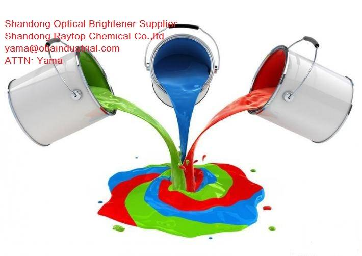 Plastic Optical Brightener OBA 184 for Coating and inks