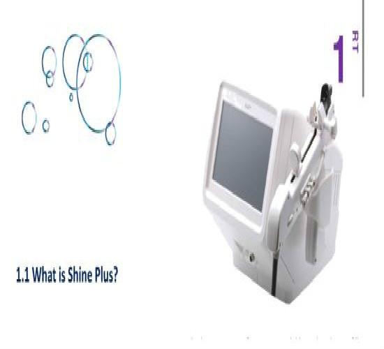 Shine Plus Advanced Aqua Shine Injector Device