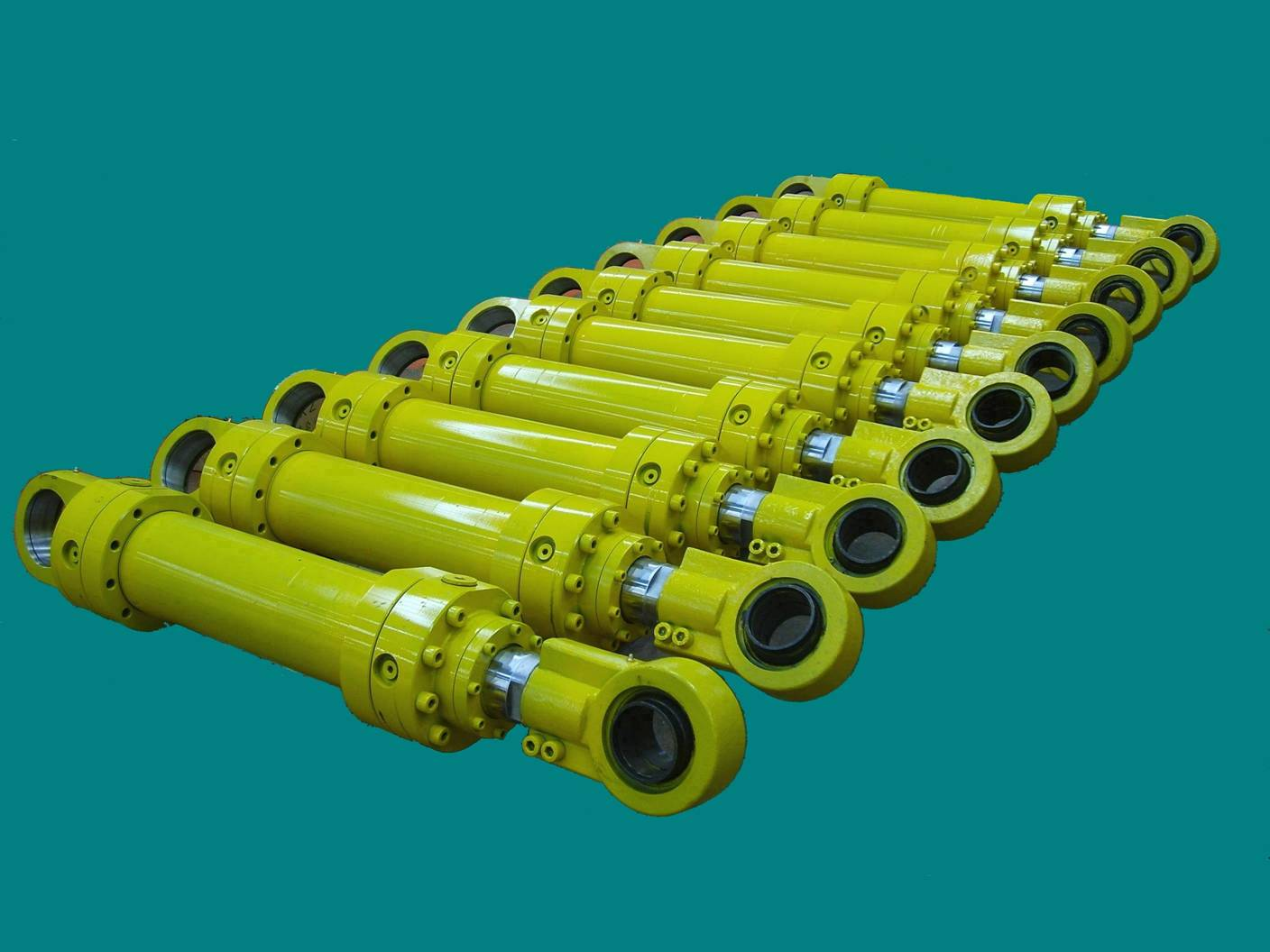 Welded Hydraulic Cylinder-Bhavana Fluid Power