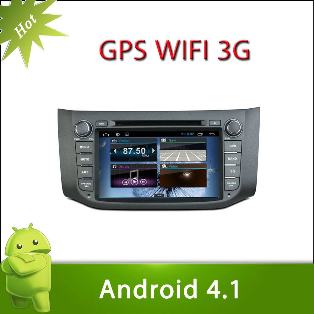 """8"""" 2 din NISSAN SYLPHY android 4.1 car DVD with Radio,GPS,Ipod,Bluetooth,SWC,Wifi,PIP,3D UI"""