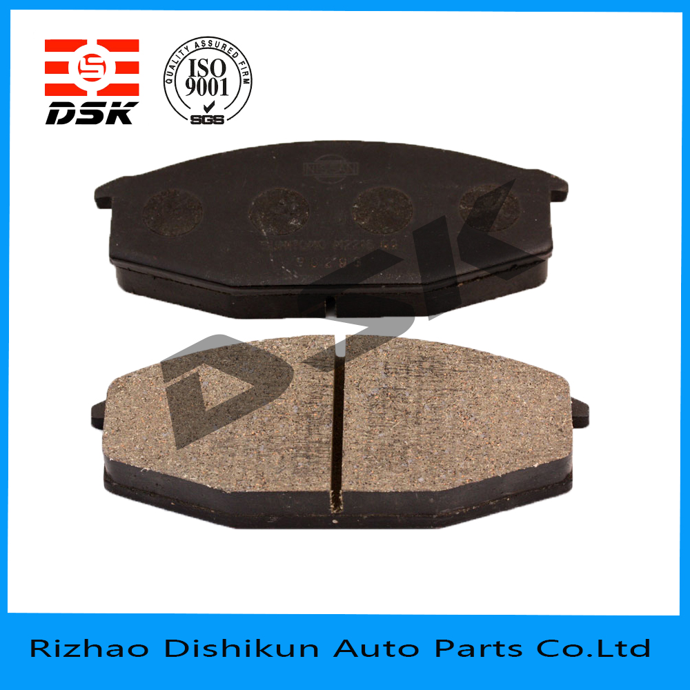 excellent quality low noise auto part brake pad 7093-D166