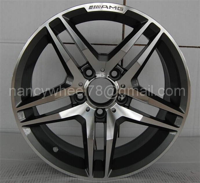 Top quality car rim aluminium wheel with competitive price