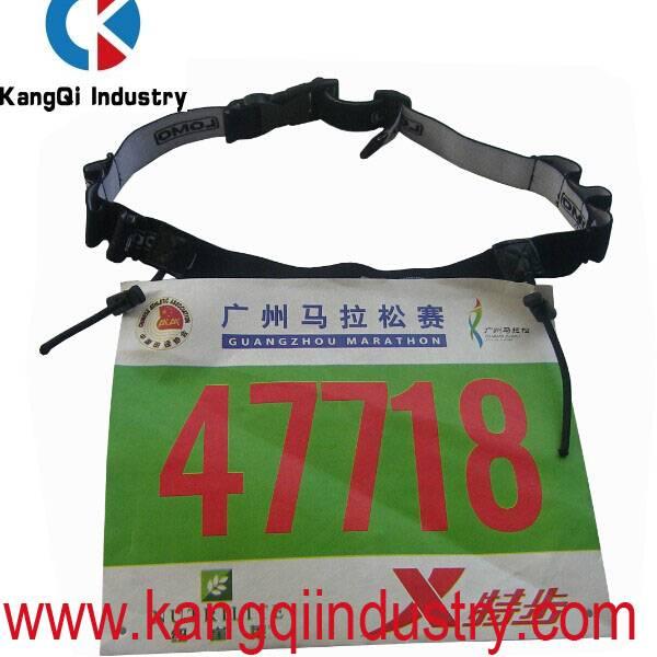 Triathlon Number Belt