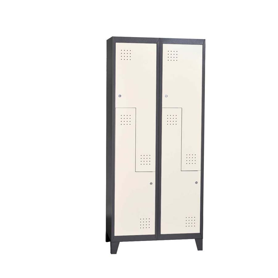 2 Door Bedroom Steel Wardrobe