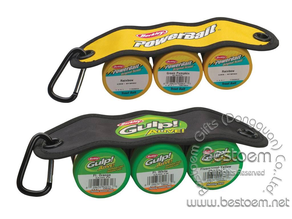 Neoprene Powerbait jar bait sling bait carrier holders