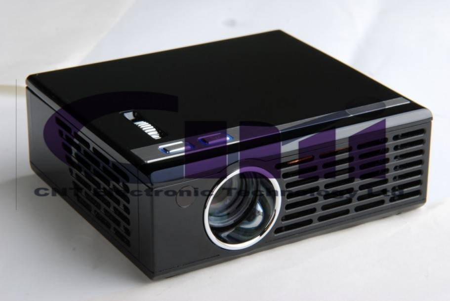 Above 100 Lumens Mini Projector with Light Weight