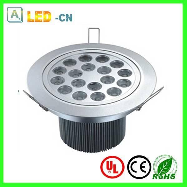 CE/ROHS 18w led ceiling spotlight
