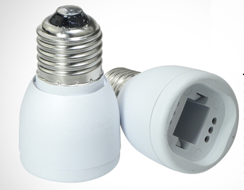 High quality E27 to G24 lamp base Holder Converter Socket light Bulb Base type Splitter Adapter