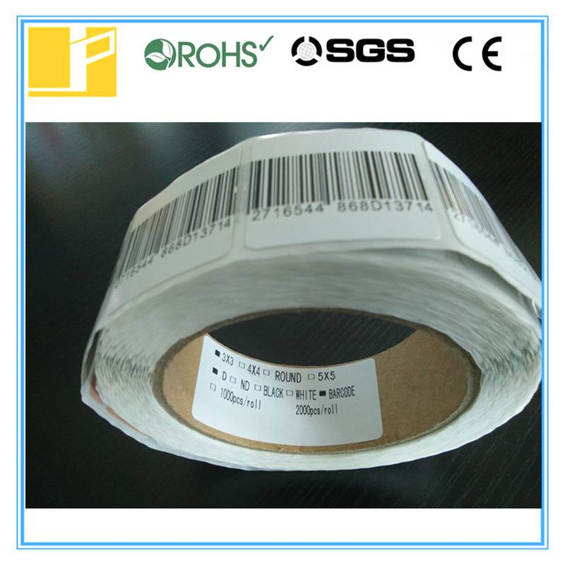 30*30mm eas label for supermarket