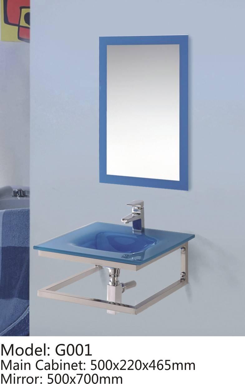 Glass Bathroom Vanity G001