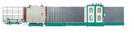 Vertical lnsulating Glass Flat Press Production Line