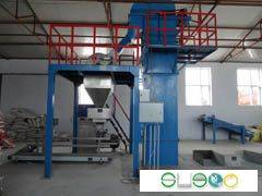 Fertilizer floor batching and blending plant