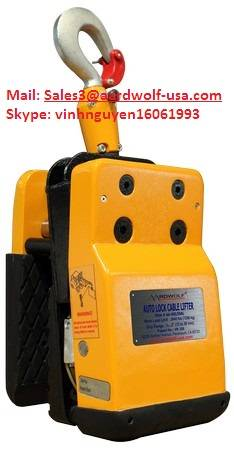 AUTO LOCK CABLE LIFTER,AARDWOLF Lifter, stone handling equipment, stone clamp