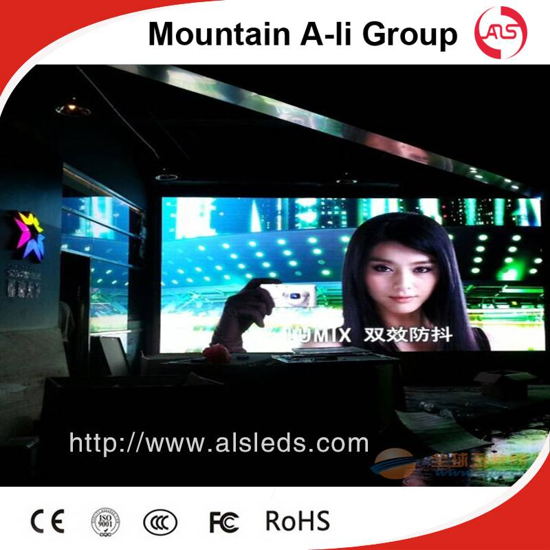 High Standard P4 Rental Indoor Full Color LED Billboard